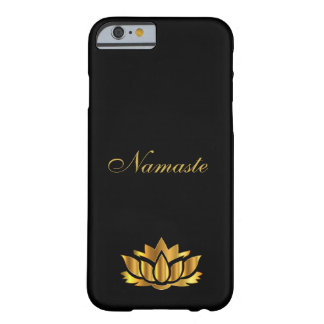 Namaste black/gold barely there iPhone 6 case