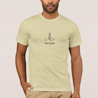 Namaste - Black Regular style T-Shirt