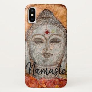 Namaste Buddha Art Apple iPhone Cases