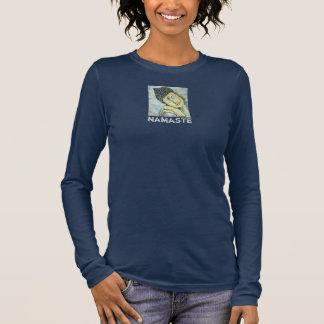 Namaste Buddha Art Long Sleeve T-Shirt