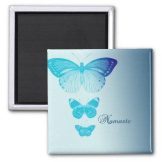 Namaste Butterflies Magnet