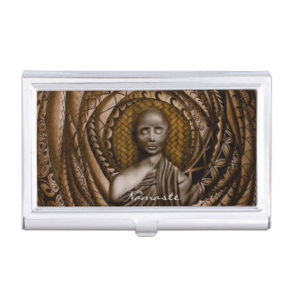 Namaste collection business card holder