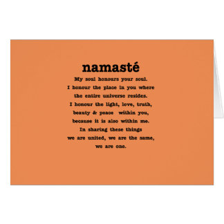 Namaste Collection Card
