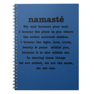 Namaste Collection Spiral Notebooks