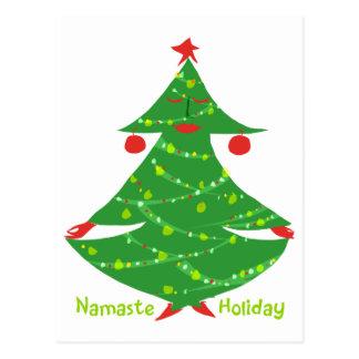 Namaste Holiday Postcard