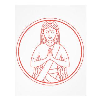 Namaste  Icon Letterhead
