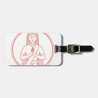 Namaste  Icon Luggage Tag