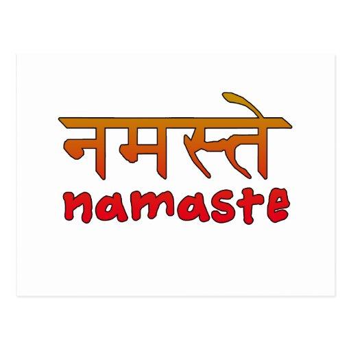 Love In Hindi Script Namaste in English and...