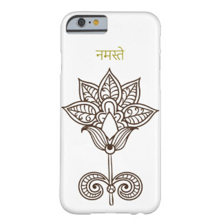 namaste india flower beautiful barely there iPhone 6 case