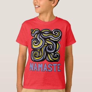 """""""Namaste"""" Kids' Hanes TAGLESS® T-Shirt"""