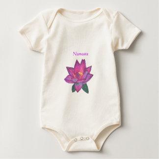 Namaste Lotus Baby Baby Bodysuit