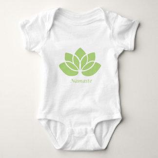 Namaste Lotus Baby Bodysuit