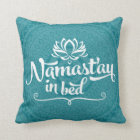 Namaste Mandala Funny Quote CUSTOMIZABLE Pillow