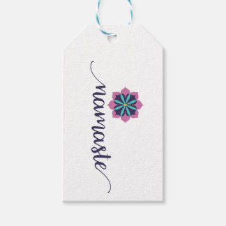 namaste mandala pack of gift tags