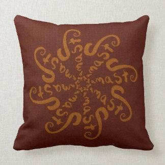 Namaste Mandala Throw Pillow