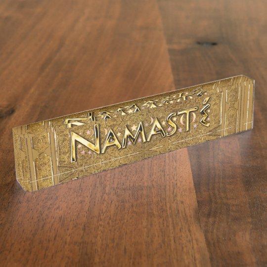 Namaste Nameplates
