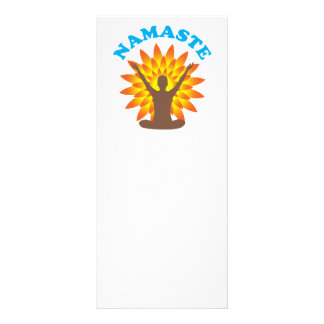 Namaste Personalized Rack Card