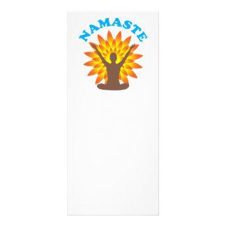 Namaste Personalized Rack Card