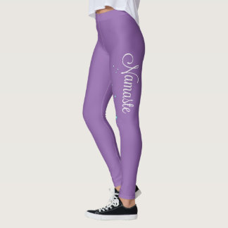 Namaste Purple Leggings