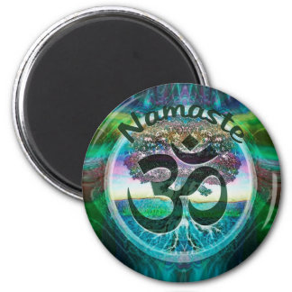 Namaste Symbol Magnet