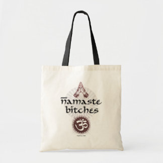 Namaste Tote Budget Tote Bag