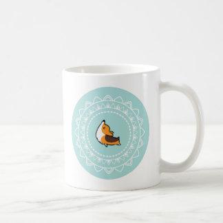 Namaste Tricolor Corgi Mug