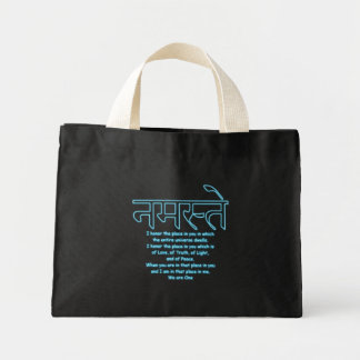 Namaste We Are One Tiny Tote