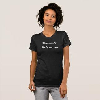 Namaste Woman tee shirt