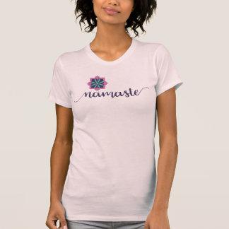 namaste women's tshirt