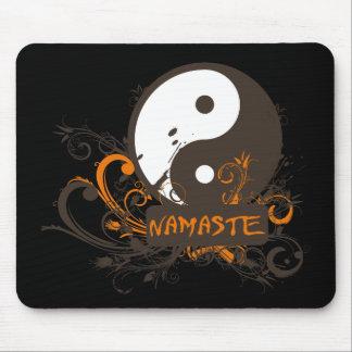 Namaste Yin Yang Mouse Pad