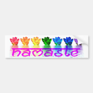 Namaste Yoga Bumper Sticker