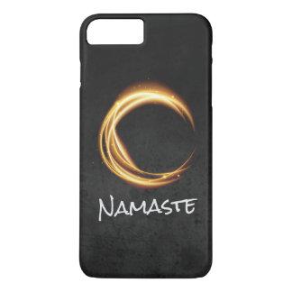 Namaste Yoga Meditation Instructor Black Gold ZEN iPhone 8 Plus/7 Plus Case