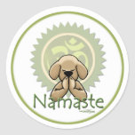 Namaste - yoga stickers