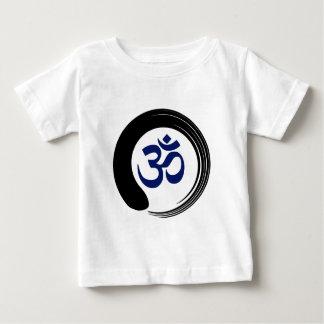 Namaste Zen Circle Meditation Prayer Ohm Aum Om Baby T-Shirt