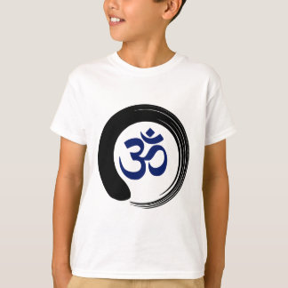Namaste Zen Circle Meditation Prayer Ohm Aum Om T-Shirt