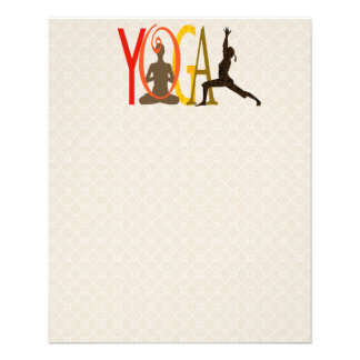 Namate Peace Yoga Flyer