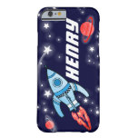 Name 5 letter rocket space navy iPhone 6 case