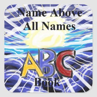 "Name Above All Names Sticker ""Cover"""