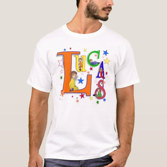 "Name Art - ""Lucas"" t-shirt"
