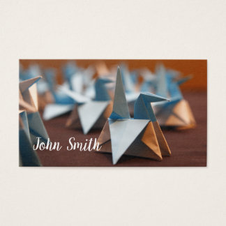 Name Card with Origami