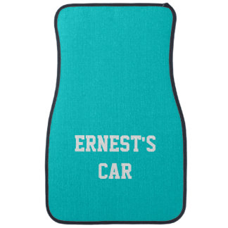Name Dark Turquoise Best Complementary Color Car Mat