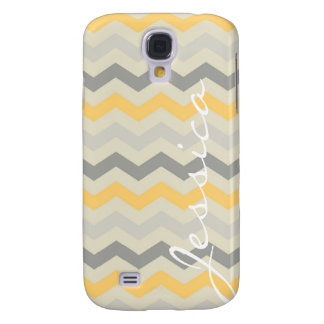 Name id gray yellow chevron zigzag zig zag pattern