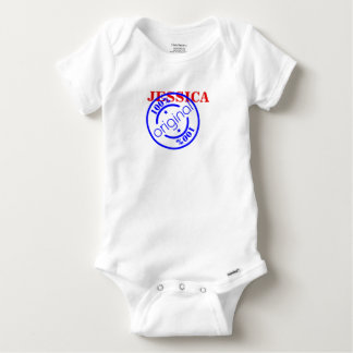 NAME IS 100% ORIGINAL BABY ONESIE