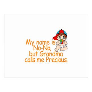 Name Is No-No Postcard