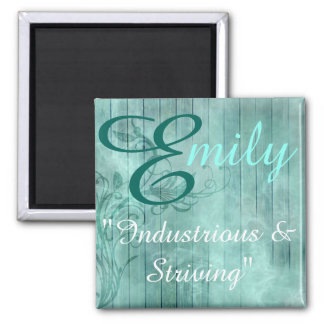Name Meaning Magnet, Emily Magnet