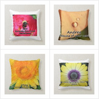 Name Meaning Throw Pillows