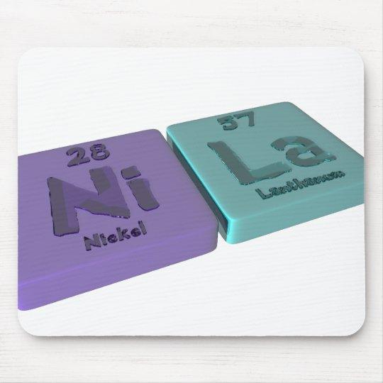 name-Nila-Ni-La-Nickel-Lanthanum Mouse Pad