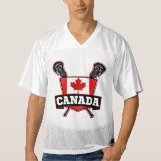 Name & Number Canada Lacrosse Jersey
