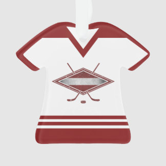 Name & Number Jersey Latvia Logo Ornament