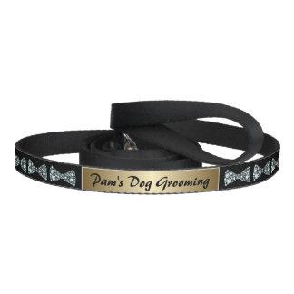 Name Plate  Diamond Bows Dog Grooming  Dog Leash